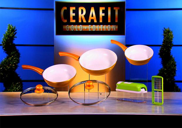 Genius Cerafit Granit und Gold Edition